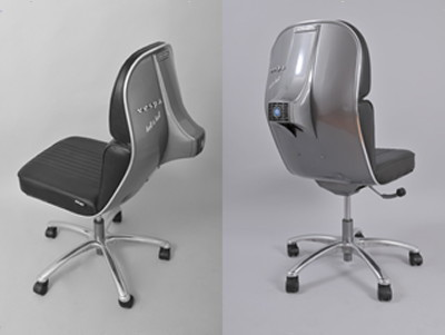 recycled vespa office chairs. beautiful office under the familiar vespa logo is studio  inside recycled office chairs