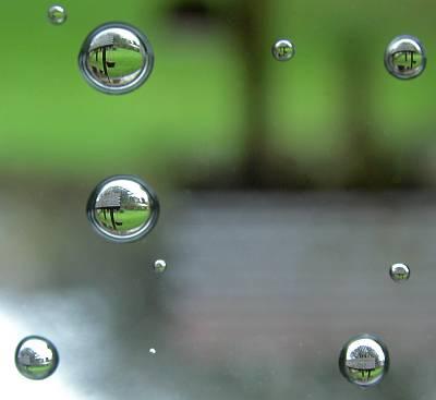 ナチュラルな透明感、水画像