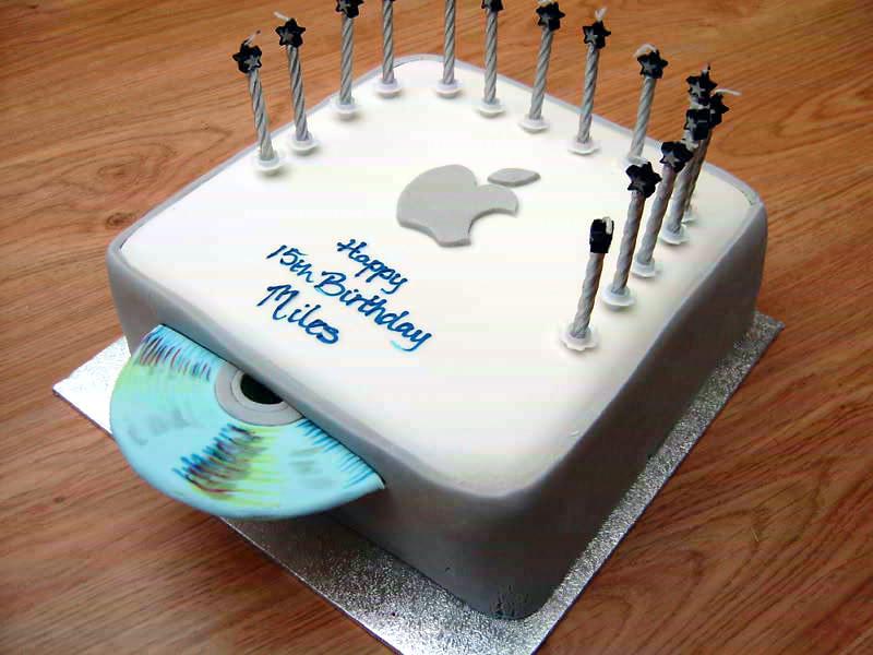 Various Cakes Like Mac Mini And Iphone Gigazine