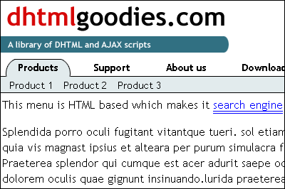 Known, there is no loss Tab interface using AJAX and CSS 18