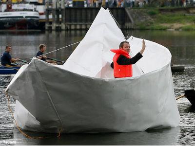 クリスマス 折り紙 折り紙 船 : gigazine.net