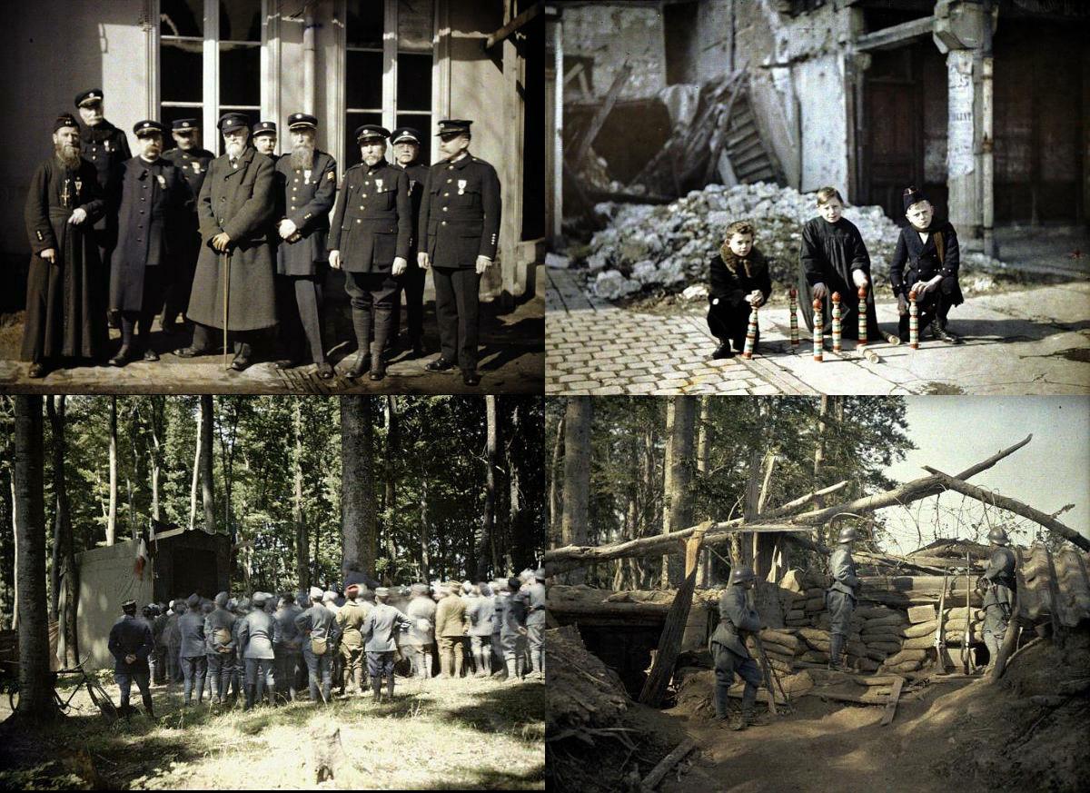 カラーになってよみがえる第一次世界大戦の貴重な写真集 - GIGAZINE GIGAZINE ホ