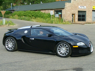 I encountered Bugatti Veyron riding Ralph Lauren and chased ...