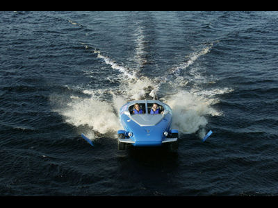 A Car That Can Run Anywhere With Underwater Wings Rinspeed Splash