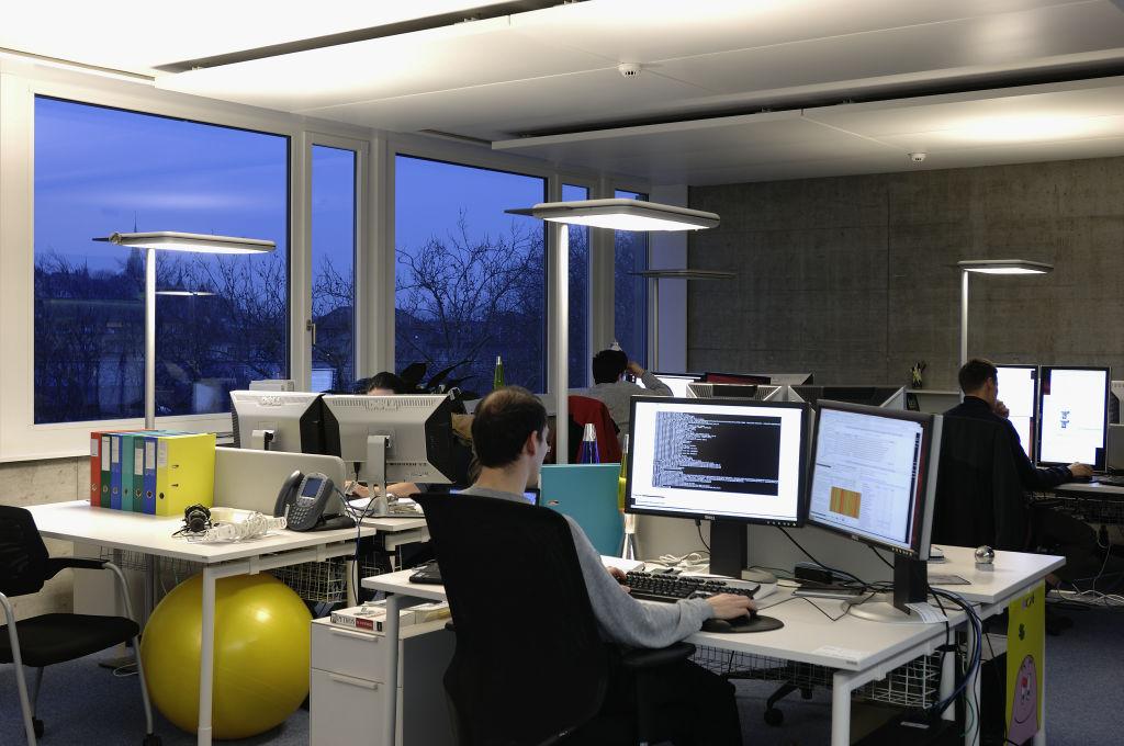 Google in gigazine for Google office zurich design