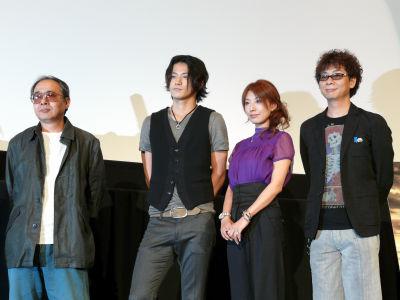 小栗旬が主演を務めるアニメ映画「ハイランダー」舞台挨拶に行ってきました