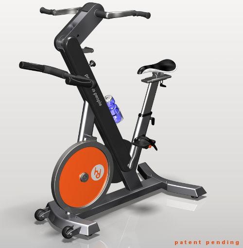 自転車の ジム 自転車 : ... をまかなうスポーツジム登場