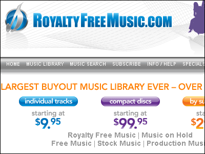 RoyaltyFreeMusic com