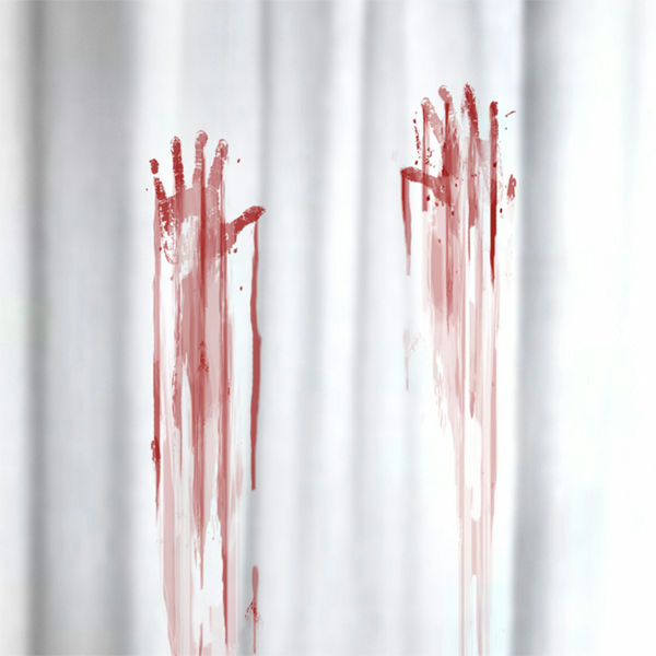 Gigazine for Psycho shower curtain and bath mat
