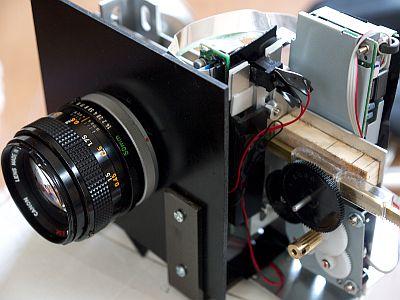 how to make diy 130 000 000 pixel digital camera with epson scanner ccd gigazine. Black Bedroom Furniture Sets. Home Design Ideas