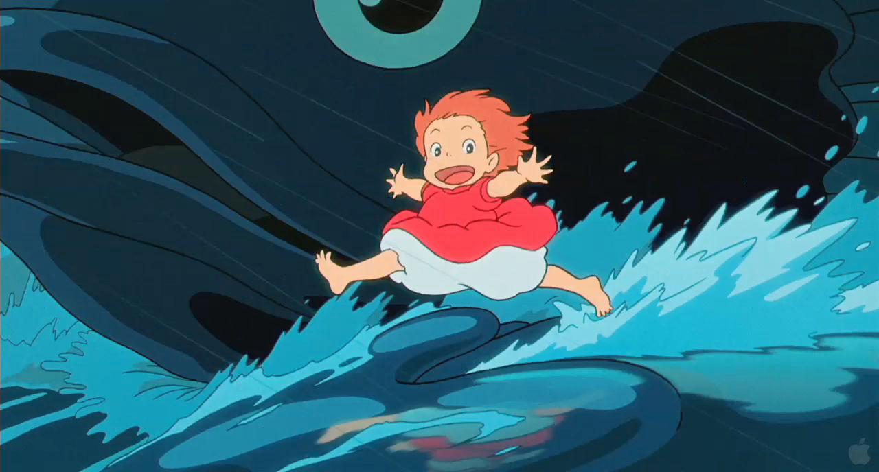 この予告編を編集した人はすごい、「崖の上のポニョ」がHD画質だとどれぐらいド迫力なのかがよくわかる「Ponyo」HD画質予告編映像がネット初登場