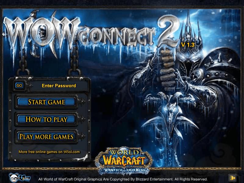 オンラインゲーム world of warcraft のアイコンを使った二角取り