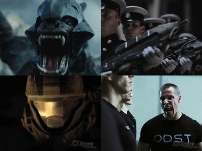Halo 3 Odst Live Action Trailer Depicting The Battle Of Soldiers