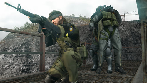 METAL GEAR SOLID PEACE WALKER Demo Game now Distributed