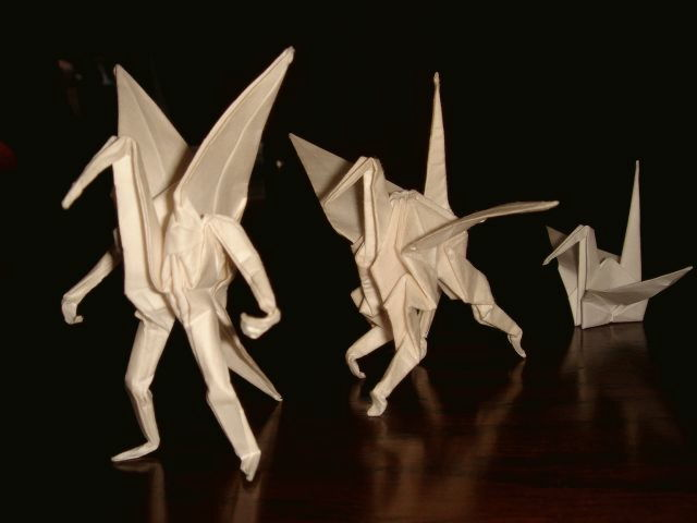 What Comes Out If Origami Master Folds A Paper Crane Gigazine