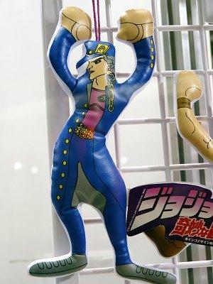JoJo's Bizarre Arcade Prizes by Banpresto at AOU 2010 - GIGAZINE