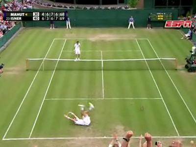 テニス史上最長試合、3日間合計1...