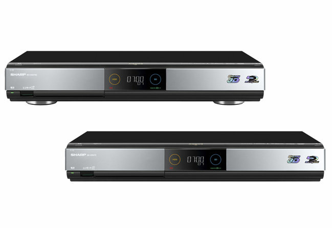 Sharp releases Blu-ray recorder and recording disc