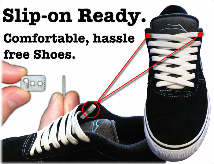 How To Hide Shoes Laces