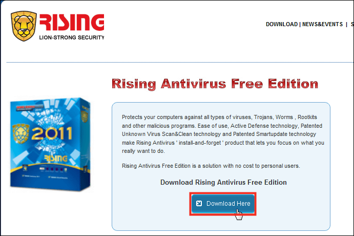 Free anti-virus software