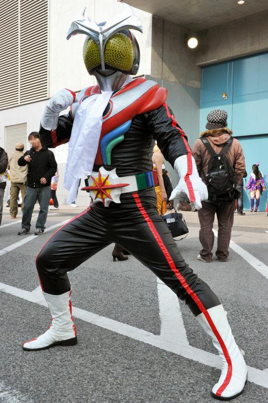 仮面ライダーやさまざまなロボット、漢(オトコ)のコスプレはこんなにも熱い