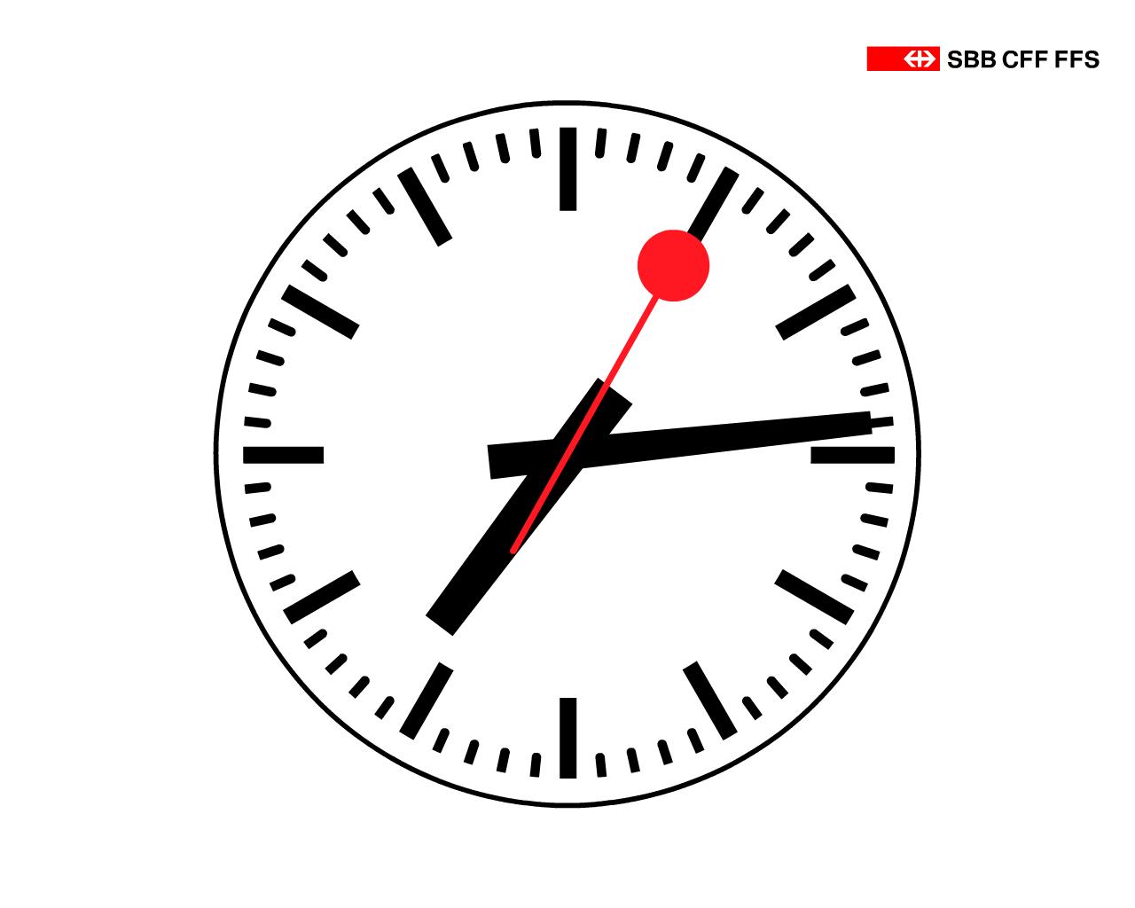 Pinterest the world s catalog of ideas - Swiss railway wall clock ...