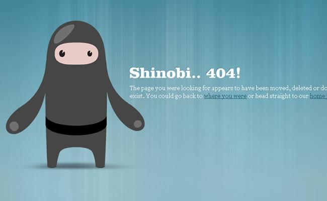 404 error page full of sense sense 30 pages - GIGAZINE