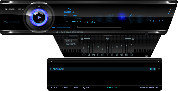 Winamp Skin 30 Choice Which Is A Reference For Pretty Creative