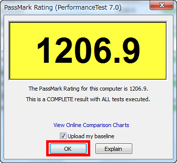 High performance benchmark software
