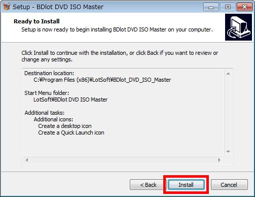 BDlot DVD ISO Master 日本語化パッチファイル ダ …