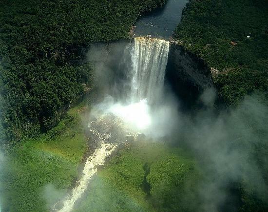 ◆エンジェルフォール(ベネズエラ) 名前が印象的な「エンジェルフォール... 暑い夏も涼しくなる