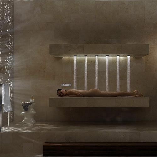 horizontal shower gigazine. Black Bedroom Furniture Sets. Home Design Ideas