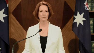 オーストラリアのギラード首相が2012年人類滅亡説をネタにしたムービー ...