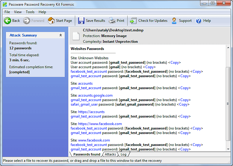 How to extract Gmail and Facebook passwords from Google
