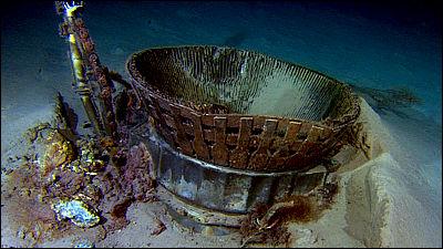 アポロ計画で使用されたエンジンをAmazonのCEOが深海からサルベージ