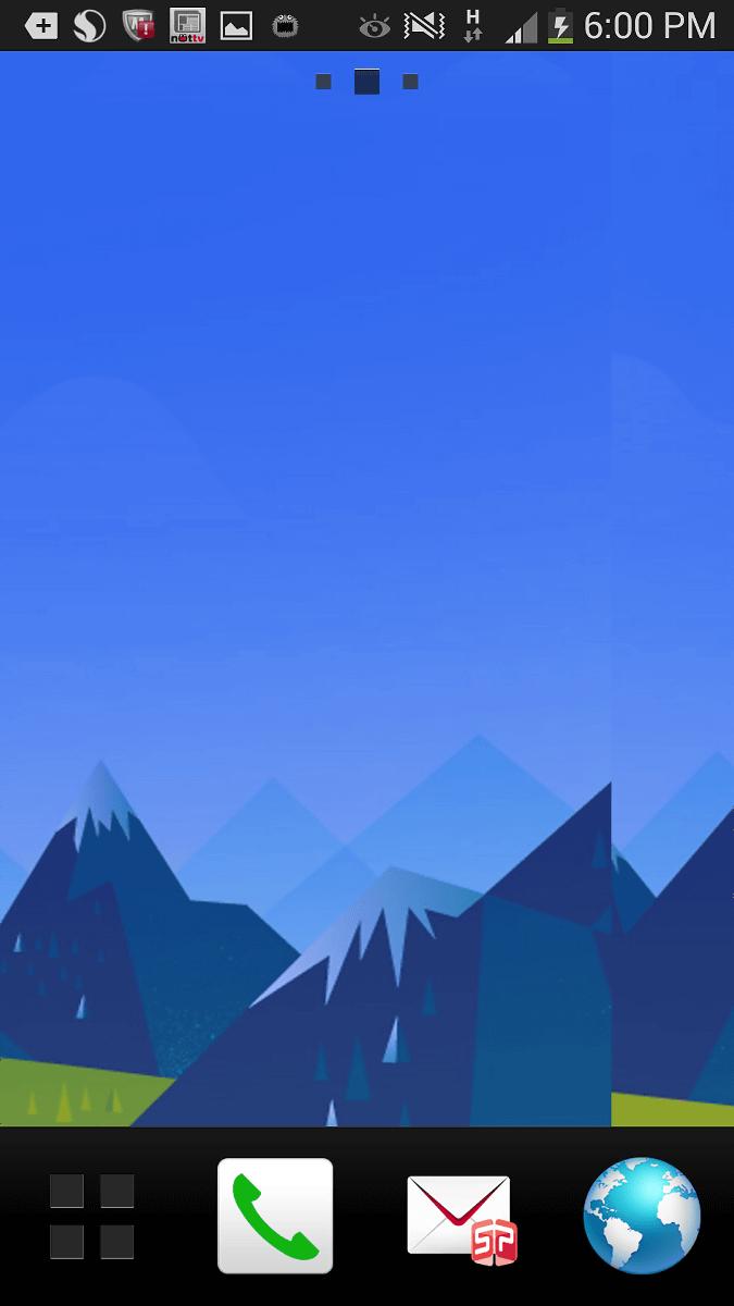 時間帯によって壁紙の背景色を変えるアプリ Googlenowwallpaper Hd Gigazine