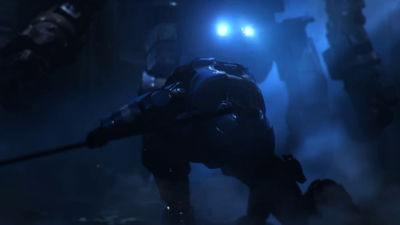 人間とロボットのガチンコバトルを描いたSFショートフィルム「AZARKANT」