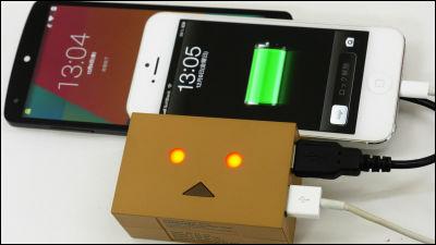 Danbo collaboration mobile battery