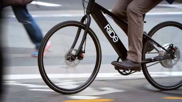 見た目は普通の自転車なのに時速40キロメートルで走行できる電動自転車「riide」 Gigazine