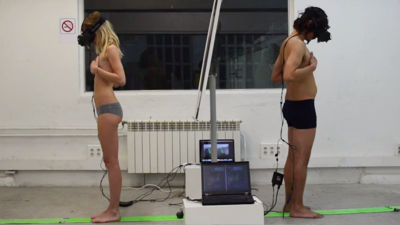 男性と女性の肉体が入れ替わると一体どのような感覚なのかを仮想体験できる「Gender Swap」