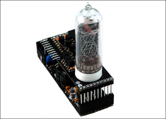 ニキシー管にLEDを組み合わせて自由自在に制御できる自作キット