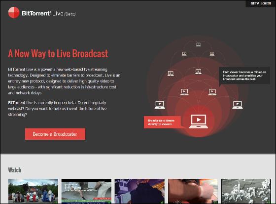 bittorrent live beta download