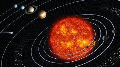 1ピクセルの月を中心に太陽系のすさまじい距離感とスケールを体感できる「If the Moon Was Only 1 Pixel」