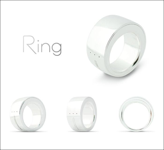 指先で宙に文字や記号を書くだけでデバイスの操作が可能になる「Ring」