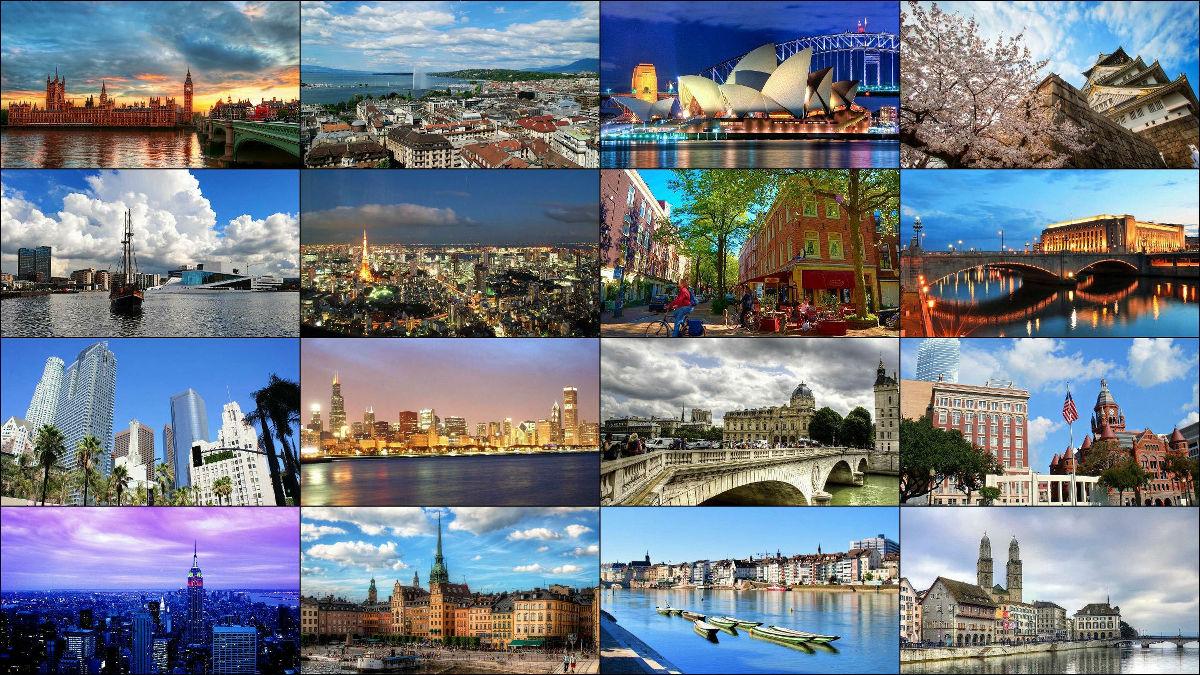 世界中の優秀な人材を惹きつける優れた都市トップ20