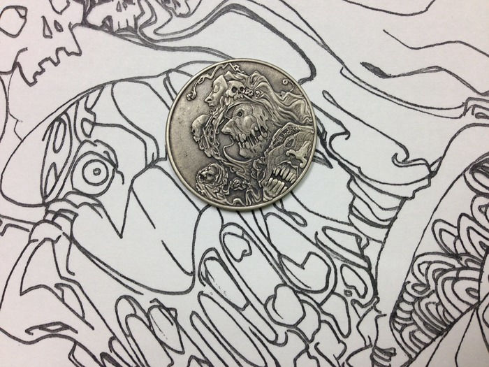 New design has been added to popular fantasy coin sets again
