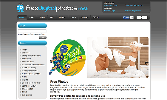 CC & Public domain image site that can be used for blogs / SNS