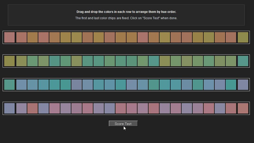 あなたの色彩感覚をテストできる online color challenge gigazine