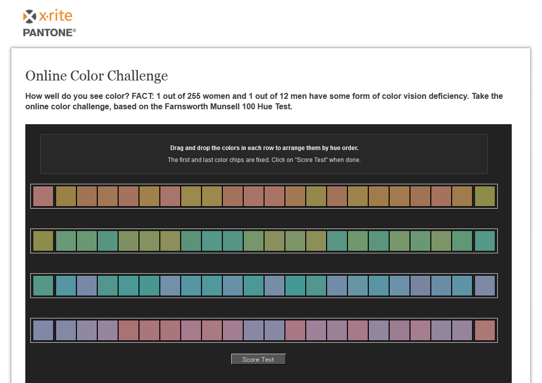 Color theory online games -  Online Color Challenge That You Can Test Your Color Sensation