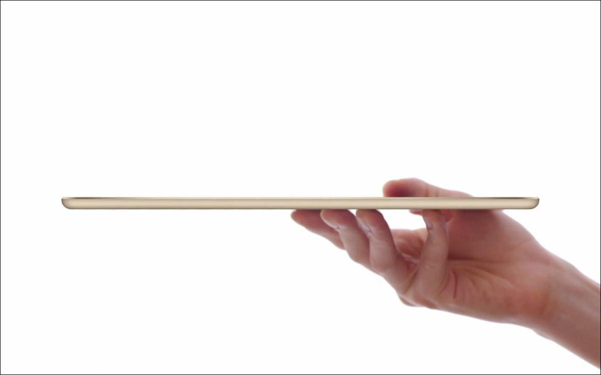 薄すぎる「iPad Air 2」のすさま...